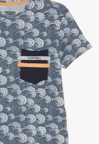 Blue Effect - BOYS WELLEN - Print T-shirt - blue - 3