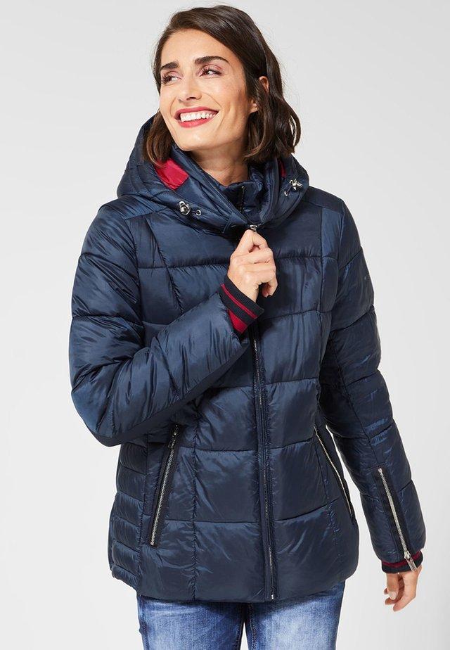 MIT STEPPUNGEN - Winter jacket - blue