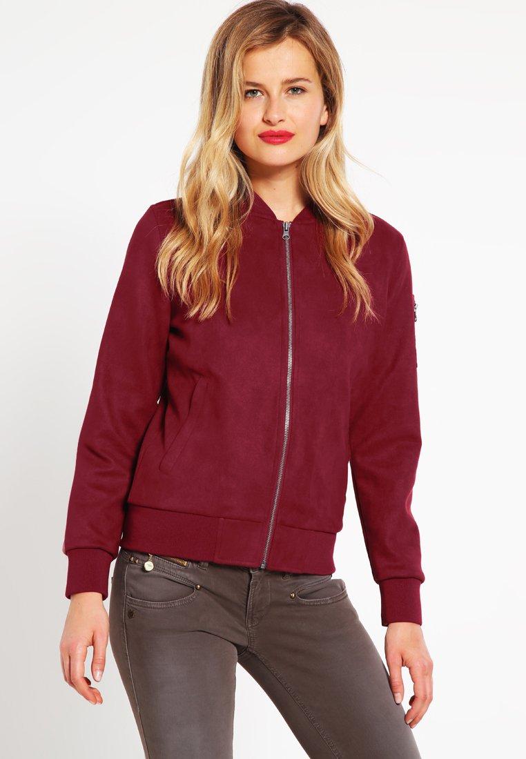 For Cheap Official Site Women's Clothing Urban Classics Bomber Jacket burgundy AMnVqginb aUypnLvrQ