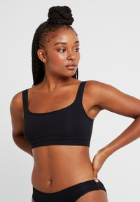 Benetton - BRASSIERE 2 PACK - Topp - black - 1