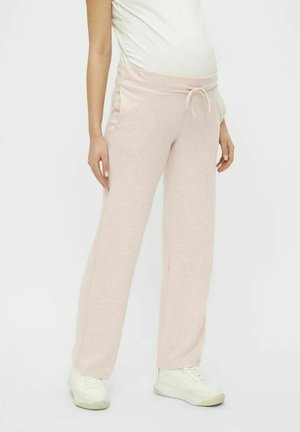 Tracksuit bottoms - sepia rose