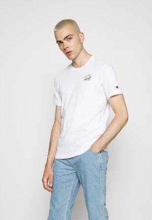 CREWNECK UNISEX - Print T-shirt - white