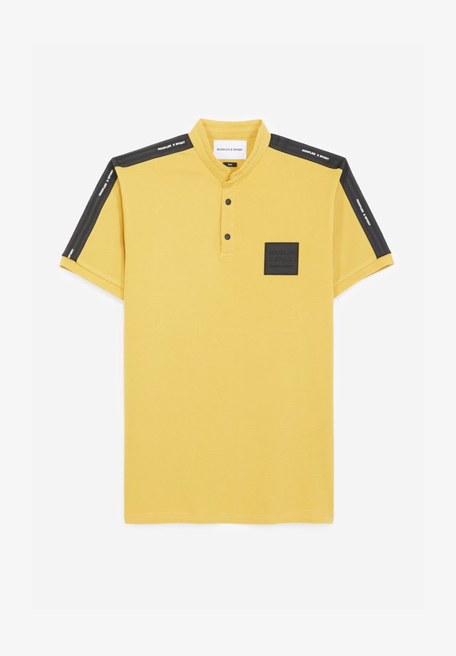 COL OFFICIER PATCH LOGO - Polo - yellow