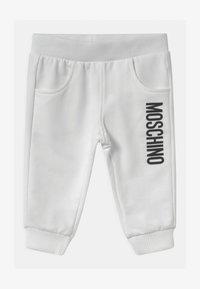 MOSCHINO - UNISEX - Kalhoty - optic white - 0