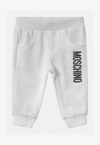 UNISEX - Kalhoty - optic white