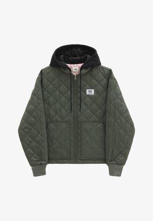 WM BOOM BOOM 66 HOOD BOMBER - Winter jacket - thyme