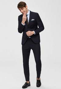 Selected Homme - Suit trousers - navy - 1
