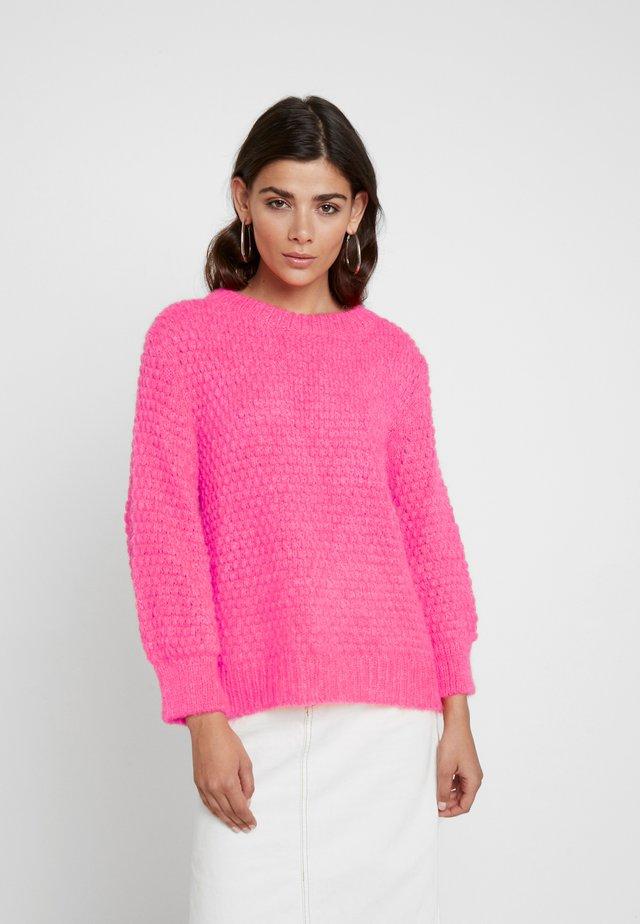 SIGNAL KRANOLA - Strickpullover - neon pink