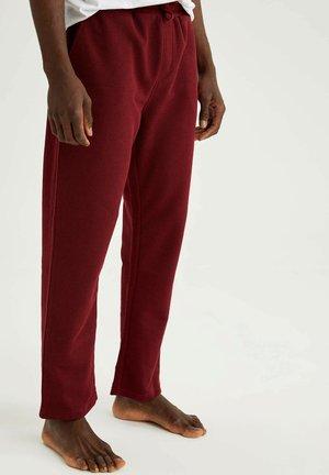 Pyjama bottoms - bordeaux