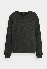 Liu Jo Jeans - FELPA CHIUSA - Sweatshirt - laurel green - 4