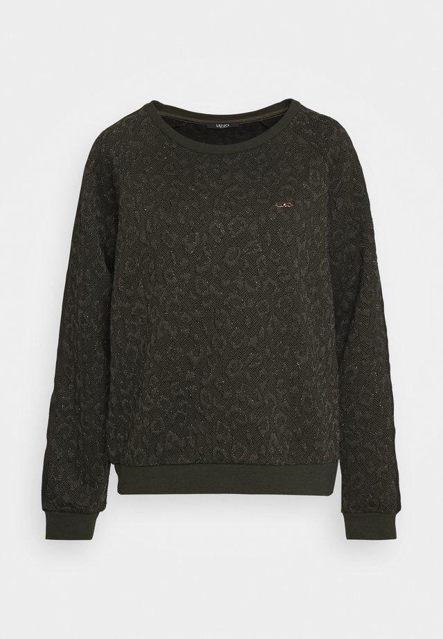FELPA CHIUSA - Sweater - laurel green