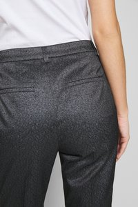 KARL LAGERFELD - SPARKLE TUXEDO PANTS - Kalhoty - black - 6