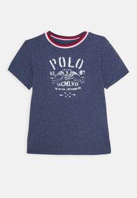 Polo Ralph Lauren - Triko spotiskem - observer blue heather - 0