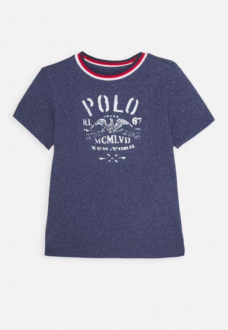 Polo Ralph Lauren - Triko spotiskem - observer blue heather