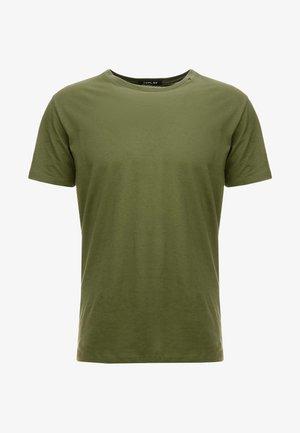 SHORT SLEEVE - Basic T-shirt - olive