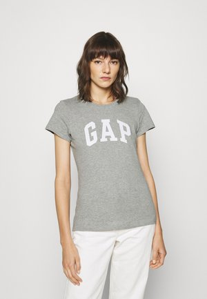 TEE - Print T-shirt - grey heather