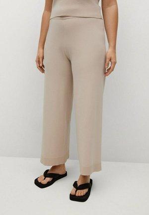 Trousers - sandfarben