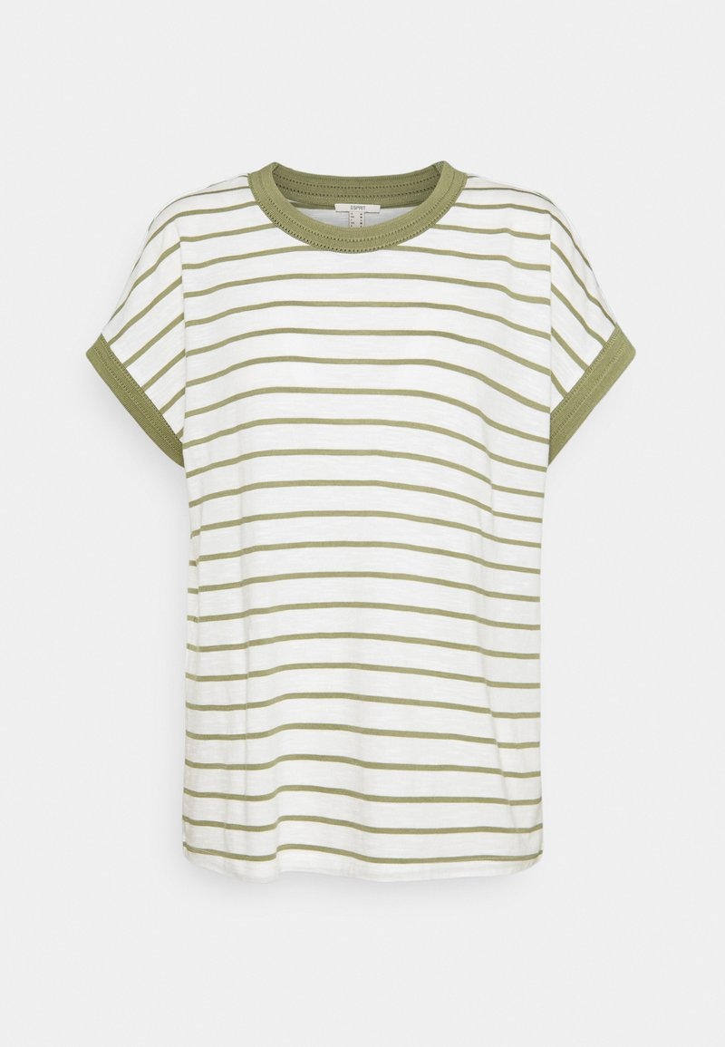 Esprit - Basic T-shirt - light khaki