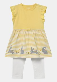 Staccato - SET - Leggings - Trousers - yellow/white - 0