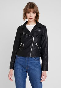 ONLY - ONYFILIPPA - Faux leather jacket - black - 0