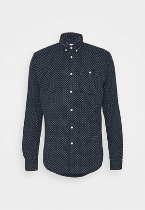 ALLOVER PRINTED STRETCH SHIRT - Shirt - navy twisted element print