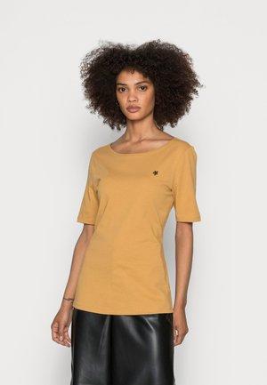 SHORT SLEEVE ROUND NECK - Basic T-shirt - sweet corn