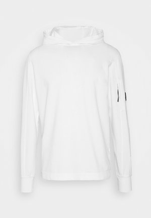 SWEAT HOODED - Mikina s kapucí - gauze white