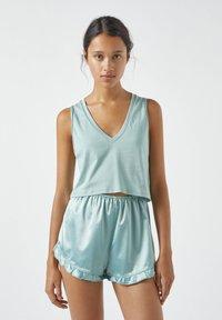 PULL&BEAR - Haut de pyjama - light blue - 0