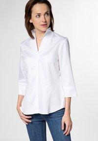 Eterna - MODERN CLASSIC - Overhemdblouse - weiß - 0