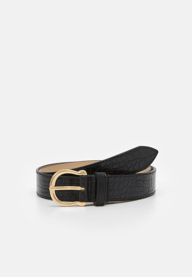 ONLLESLEY SNAKE BELT - Belt - black