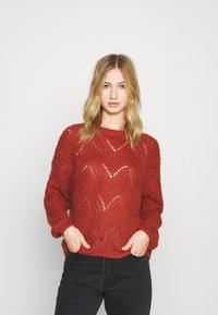 ONLY - ONLHAVANA - Pullover - red ochre - 0