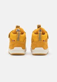 Viking - SAMUEL MID WP UNISEX - Hiking shoes - mustard - 2
