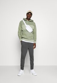 Levi's® - RELAXED FIT NOVELTY HOOD UNISEX - Felpa con cappuccio - light green - 1