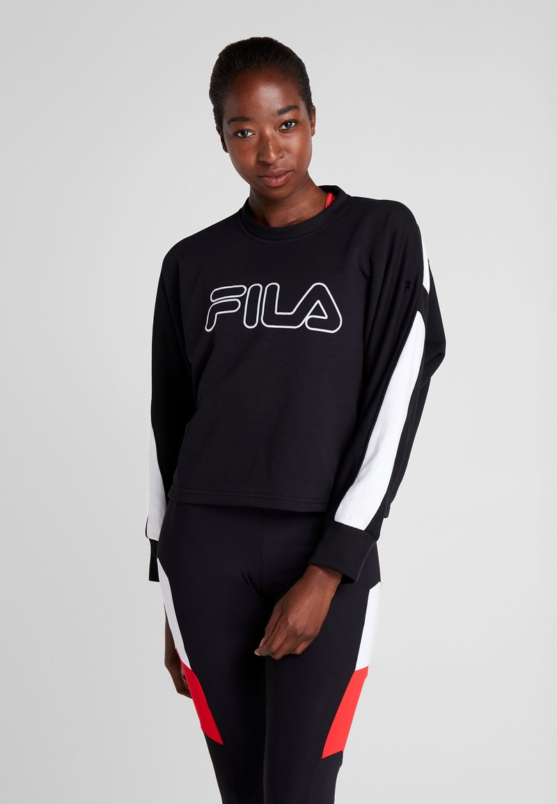 Fila - Bluza - black/bright white