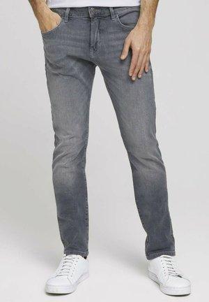 TROY  - Slim fit jeans - used light stone grey denim
