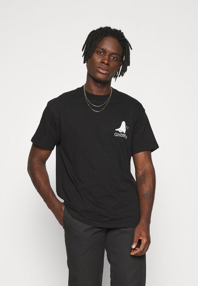 GHOSTLY  - T-shirts print - black
