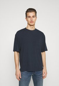GAP - OVERSZED - Basic T-shirt - navy - 0