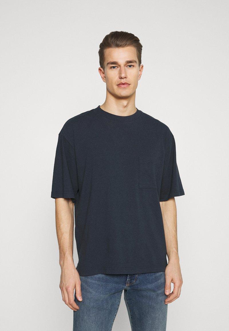 GAP - OVERSZED - Basic T-shirt - navy