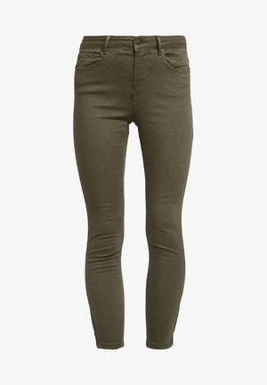 VMHOT SEVEN ZIP PANTS - Jeans Skinny Fit - ivy green