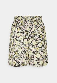 Gina Tricot - EXCLUSIVE AYDEN - Shorts - black/multicoloured - 6