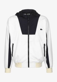 Lacoste - Training jacket - white/abysm-naturel clair - 0