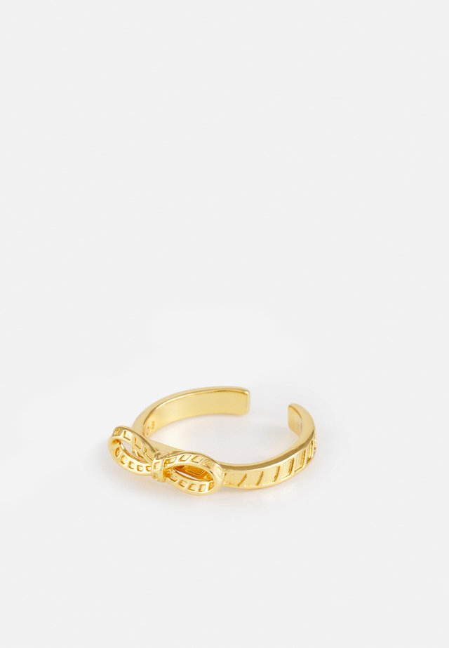 BOW - Ring - gold-coloured
