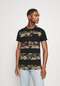 INDICODE JEANS - EPSLEY - T-shirt print - black - 0