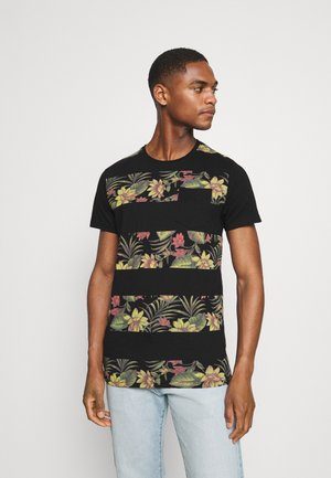EPSLEY - Print T-shirt - black
