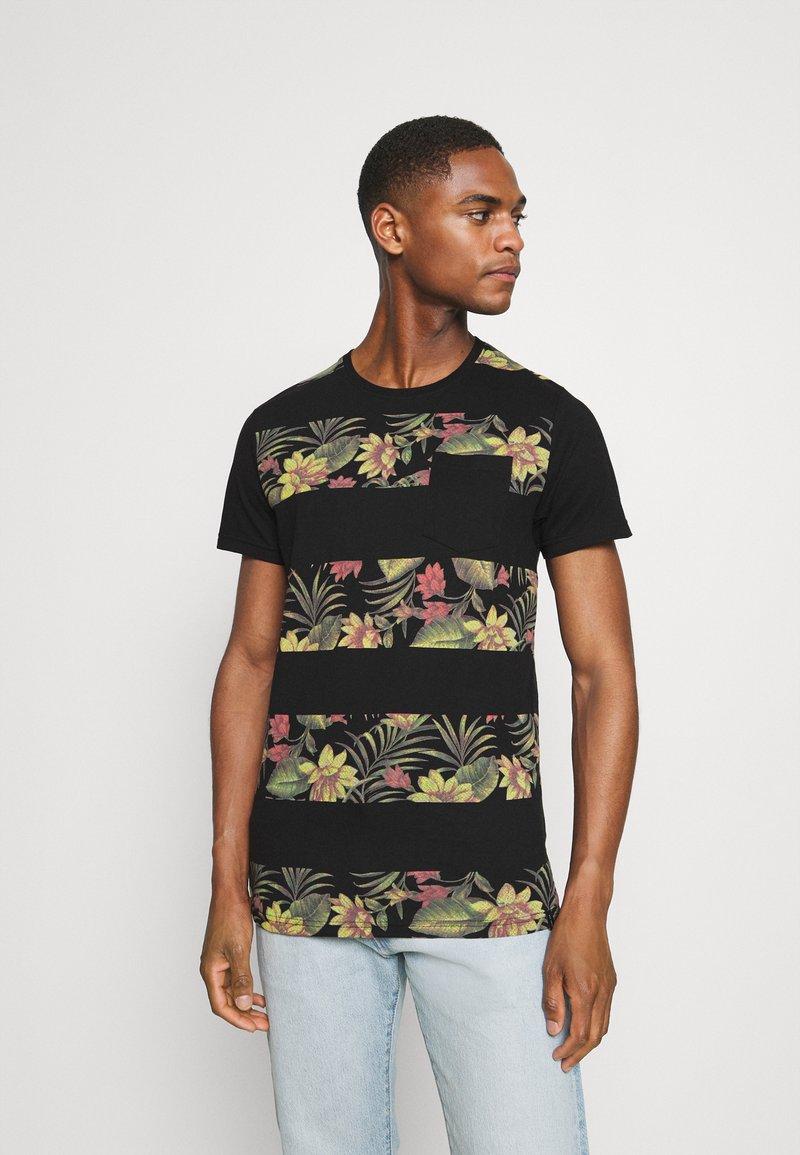 INDICODE JEANS - EPSLEY - T-shirt print - black