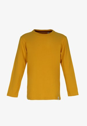 BASIC - Langærmede T-shirts - mustard yellow
