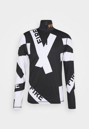 PASCAL - Bluzka z długim rękawem - black