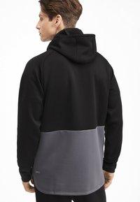 Puma - Training jacket - black-castlerock - 2