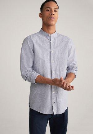 Shirt - navy/weiß gestreift