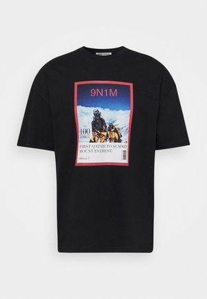 MAGAZINE UNISEX - T-shirt print - black